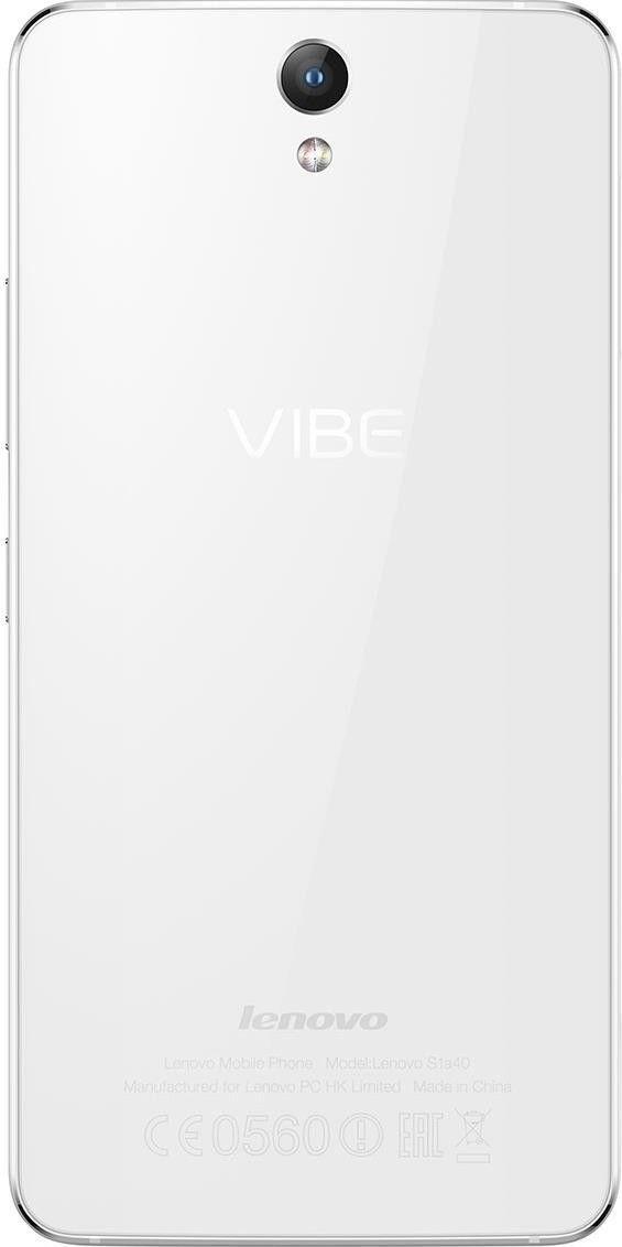 Мобильный телефон Lenovo VIBE S1 White - 2
