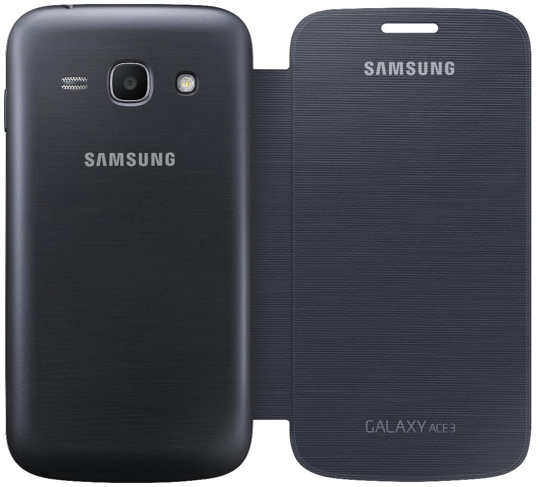 Чехол Samsung для Galaxy Ace 3 S7272 (EF-FS727BBEGWW) Black - 3