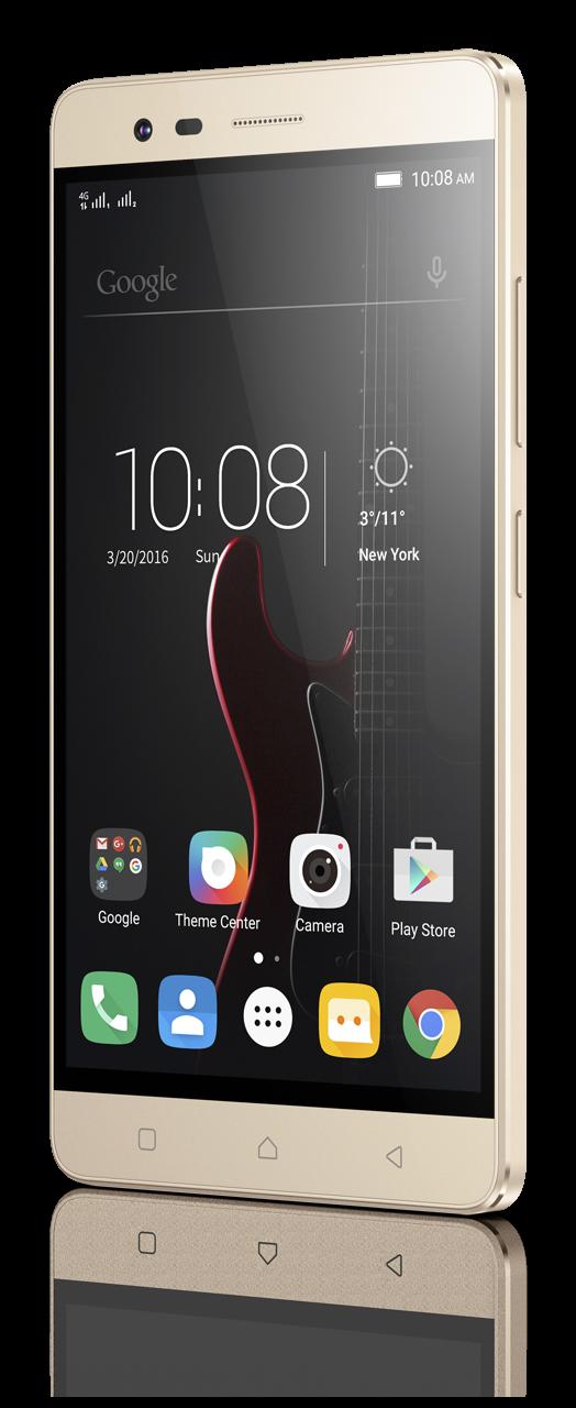 Мобильный телефон Lenovo Vibe K5 Note Pro (A7020A48) Gold - 3
