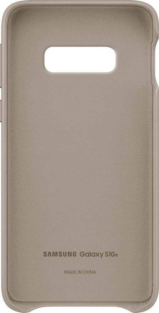 Панель Samsung Leather Cover для Samsung Galaxy S10e (EF-VG970LJEGRU) Gray от Територія твоєї техніки - 4