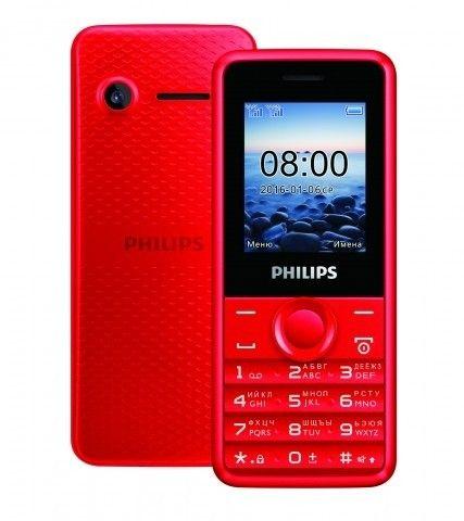 Мобильный телефон Philips Xenium E103 Red - 1