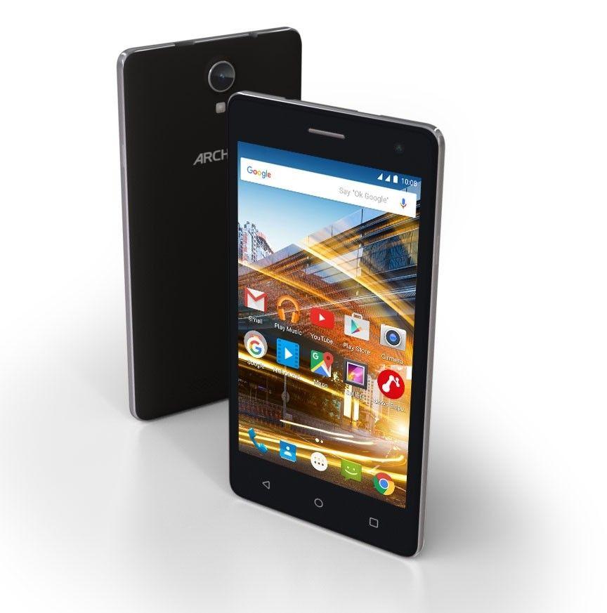 Мобильный телефон Archos 50D Neon Black - 3
