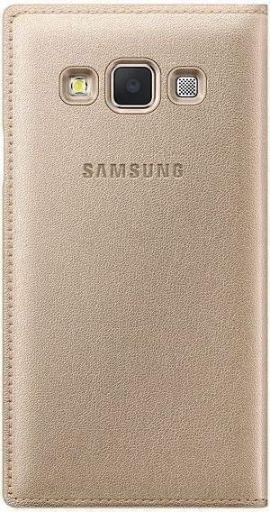 Чехол Samsung Flip Cover для Samsung Galaxy A3 Gold (EF-FA300BFEGRU) - 1
