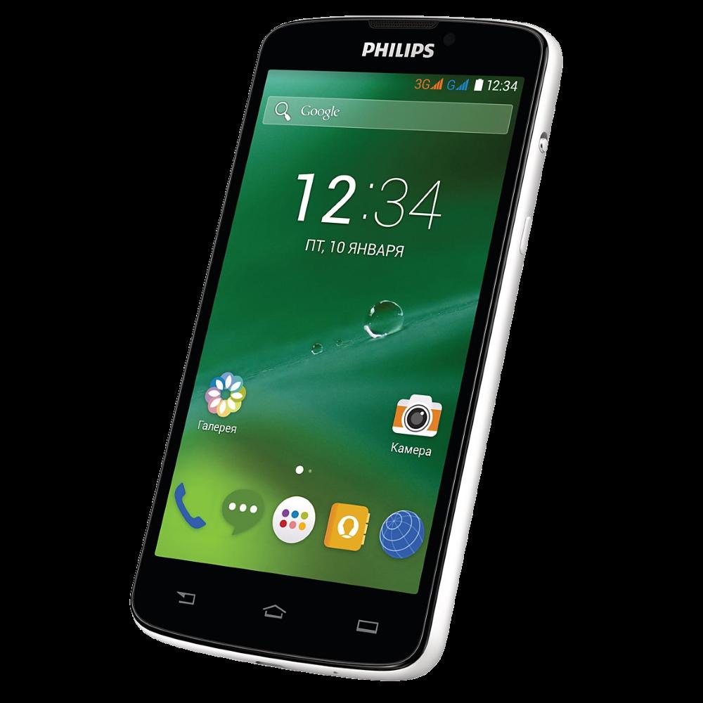 Мобильный телефон Philips Xenium V387 White - 2