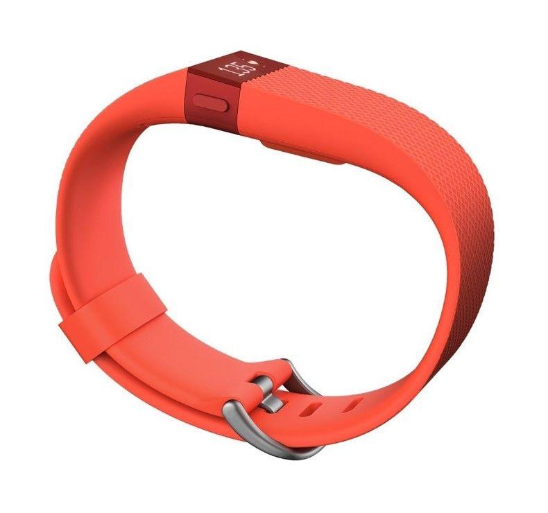 Фитнес-трекер Fitbit Charge HR Large Tangerine - 2