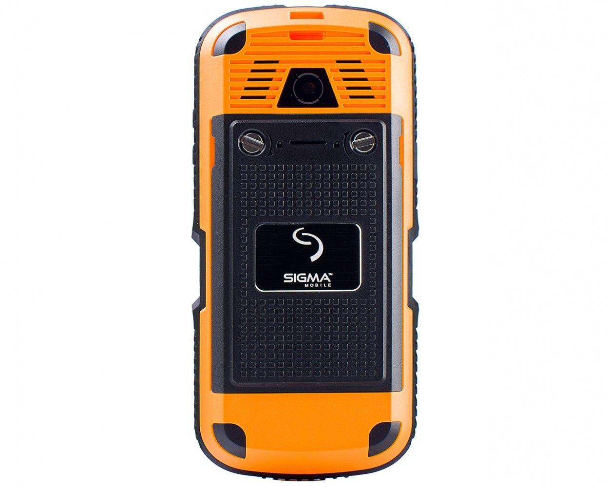 Мобильный телефон Sigma mobile X-treme IP67 Black Orange - 1