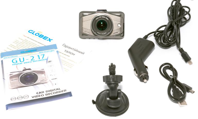 Видеорегистратор Globex GU-217 - 3