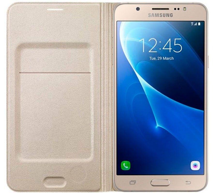 Чехол-книжка для Samsung Galaxy J5 Gold (EF-WJ510PFEGRU) - 1