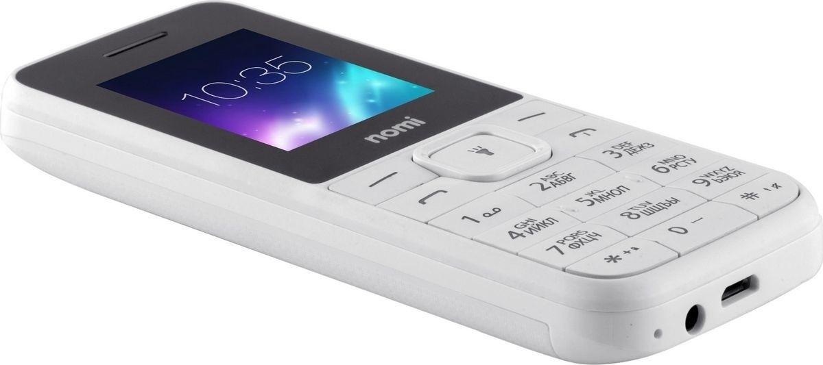 Мобильный телефон Nomi i182 White - 8