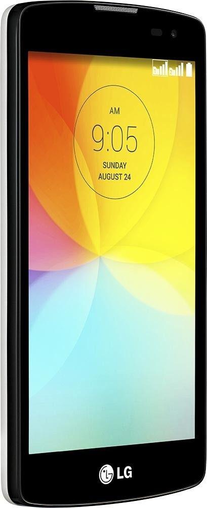 Мобильный телефон LG L Fino D295 Dual Sim White - 4