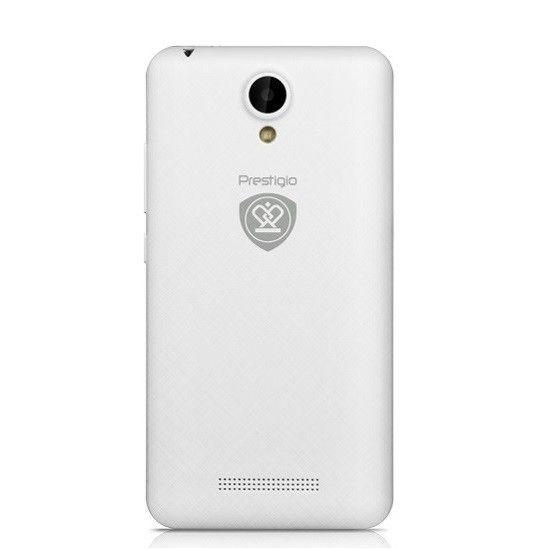 Мобильный телефон Prestigio MultiPhone 3504 Muze C3 (PSP3504DUOWHITE) White - 1