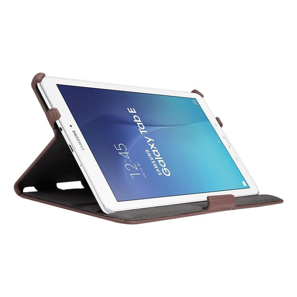 Обложка AIRON Premium для Samsung Galaxy Tab E 9.6 Brown - 2