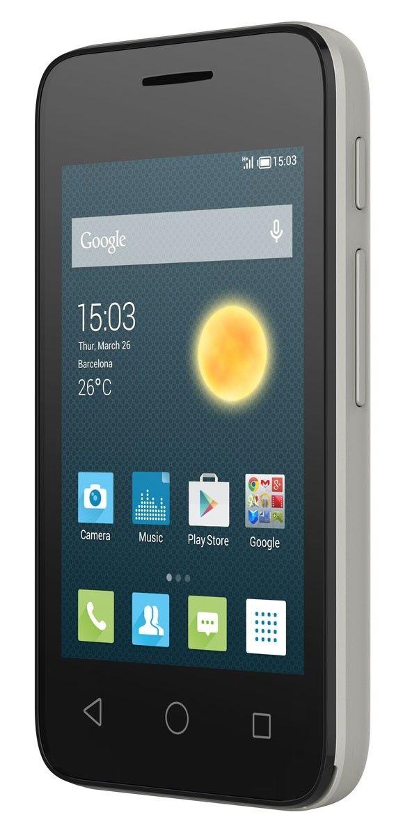Мобильный телефон Alcatel OneTouch 4009D Metalic Silver - 2