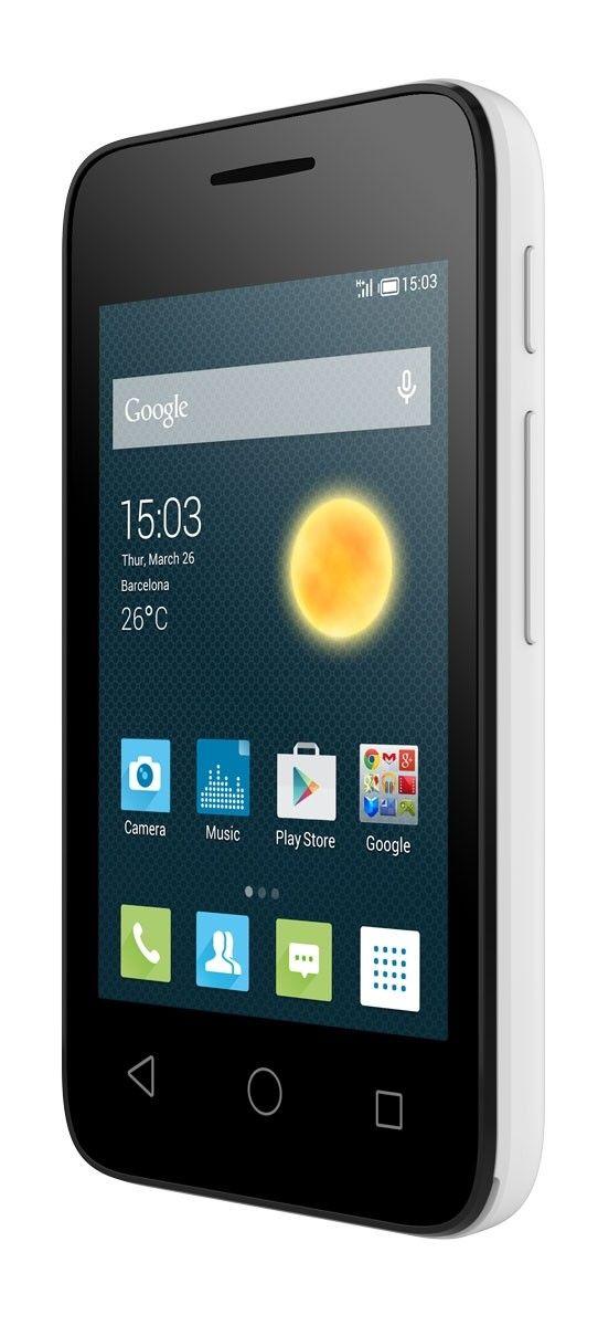 Мобильный телефон Alcatel OneTouch 4009D White - 3