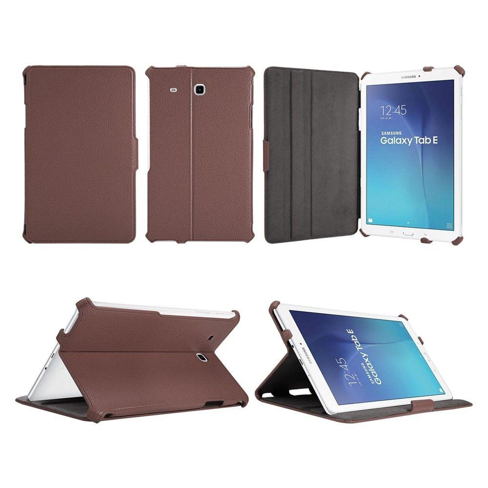 Обложка AIRON Premium для Samsung Galaxy Tab E 9.6 Brown - 7