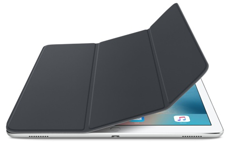 """Чехол-книжка Apple Smart Cover для iPad Pro 12.9"""" (MK0L2ZM/A) Charcoal Gray - 3"""