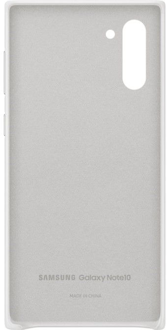 Чехол Samsung Leather Cover для Samsung Galaxy Note 10 (EF-VN970LWEGRU) White от Територія твоєї техніки - 3