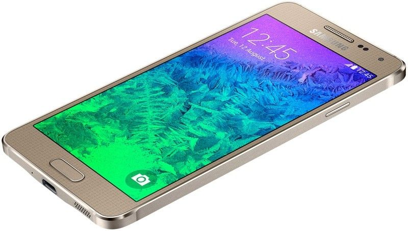 Мобильный телефон Samsung Galaxy Alpha G850F Frosted Gold - 6