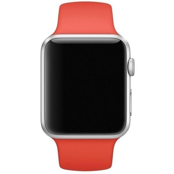 Ремешок Sport для Apple Watch 38мм (MLD92) Orange - 1