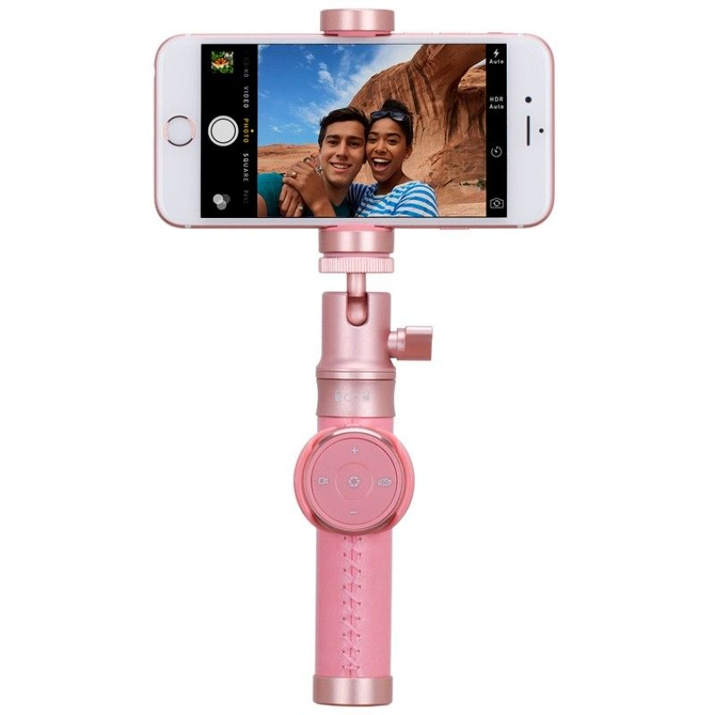 Монопод для селфи MOMAX Selfie Pro Bluetooth Selfie Pod 90cm Rose Gold (KMS4L2) - 1