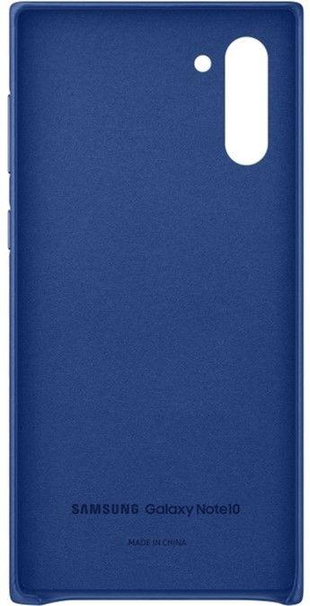 Чехол Samsung Leather Cover для Samsung Galaxy Note 10 (EF-VN970LLEGRU) Blue от Територія твоєї техніки - 3