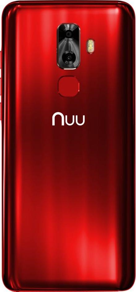 Смартфон NUU Mobile G3 Red от Територія твоєї техніки - 2