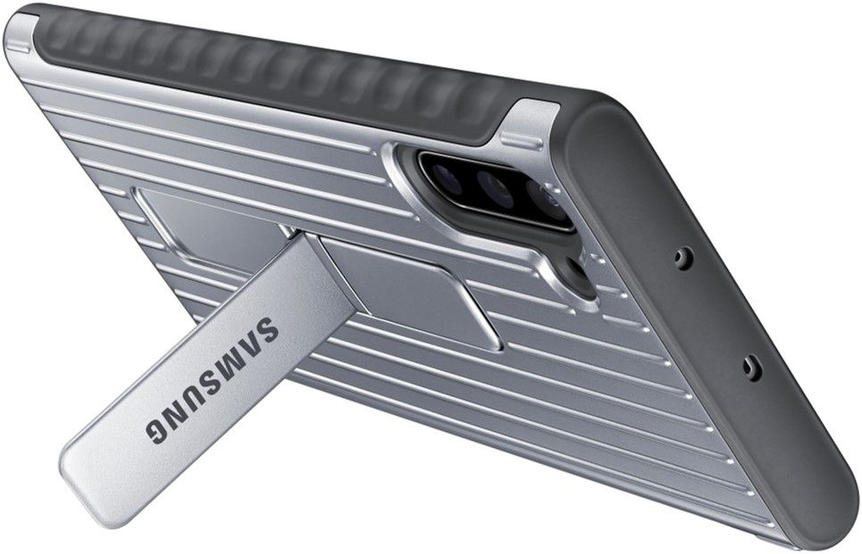 Чехол-накладка Samsung Protective Standing Cover для Samsung Galaxy Note 10 (EF-RN970CSEGRU) Silver от Територія твоєї техніки - 5