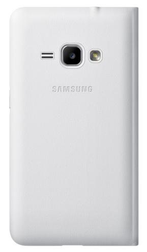Чехол-книжка Flip Wallet для Samsung J1 2016 White (EF-WJ120PWEGRU) - 1