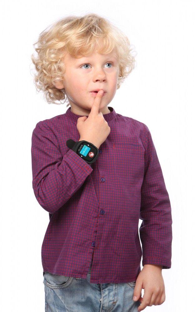 Детский телефон-часы с GPS трекером FIXITIME 2 Black (FT-201B) - 1