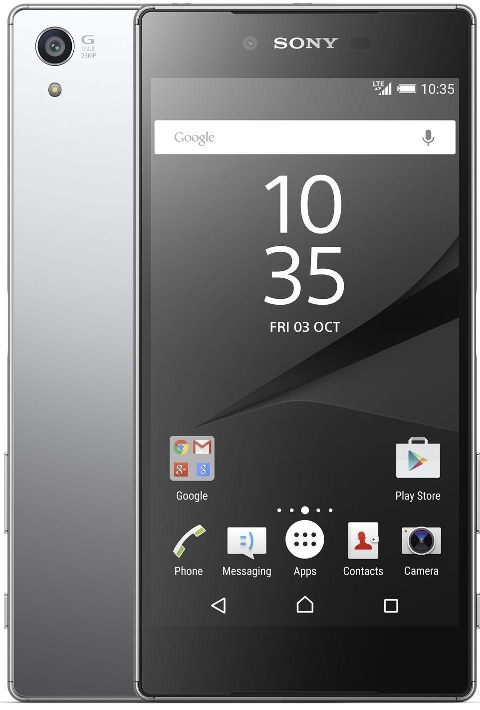 Мобильный телефон Sony Xperia Z5 Dual Premium E6883 Chrome - 2