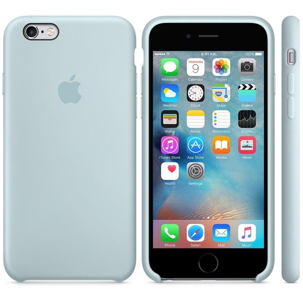 Силиконовый чехол Apple iPhone 6s Plus Silicone Case (MLD12) Turquoise - 2