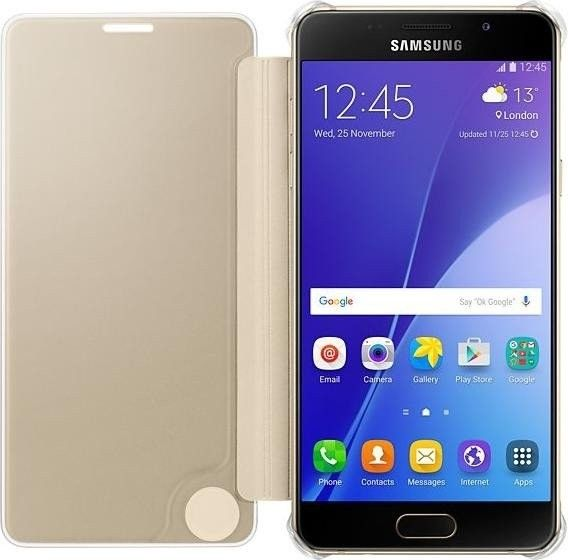 Чехол-книжка Samsung A510 EF-ZA510CFEGRU Gold - 3