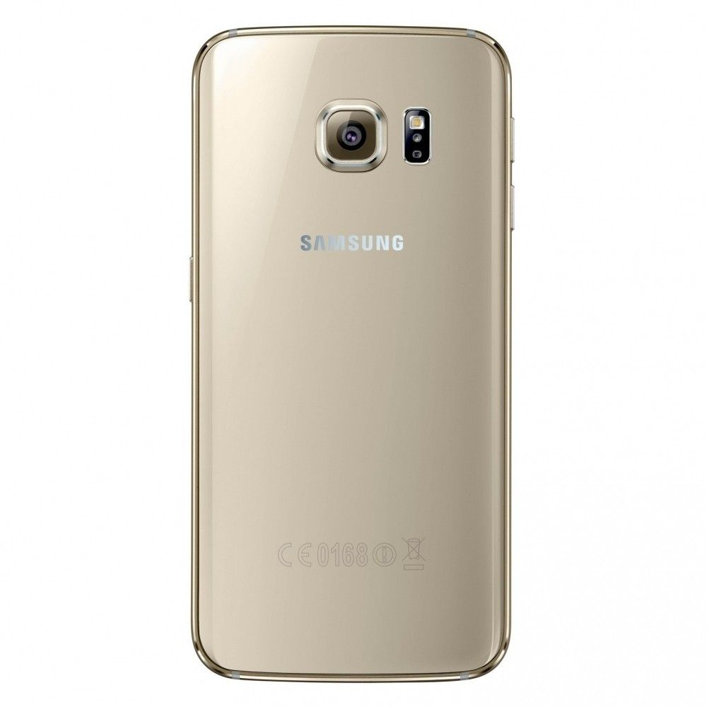 Мобильный телефон Samsung Galaxy S6 Edge 32GB G925F (SM-G925FZDASEK) Gold - 1