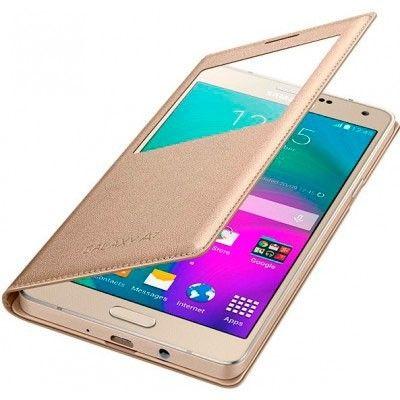 Чехол Samsung S View для Galaxy S7 Gold (EF-CG930PFEGRU) - 2