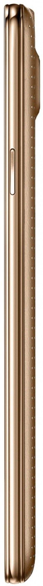 Мобильный телефон Samsung G900H Galaxy S5 (SM-G900HZDASEK) Copper Gold - 2