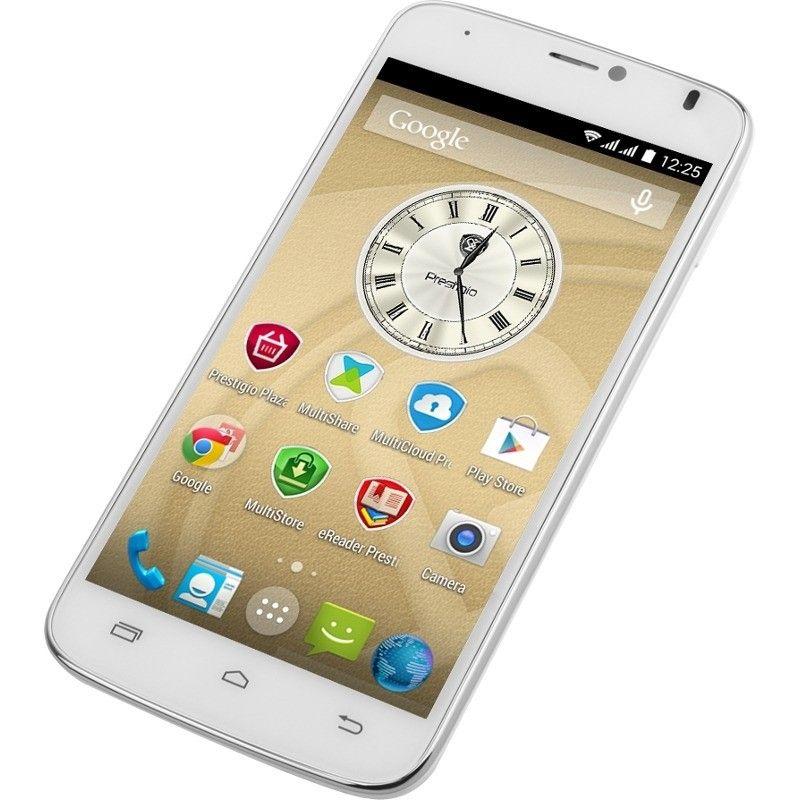 Мобильный телефон Prestigio MultiPhone 3502 Duo White - 4