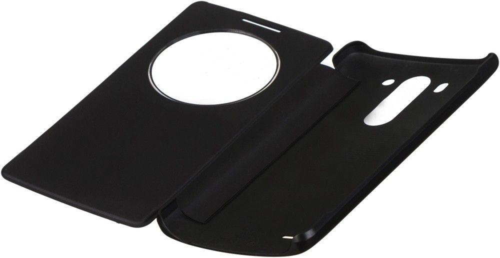 Чехол LG QuickWindow для LG G3s D724 Black (CCF-490G.AGEUTB) - 1