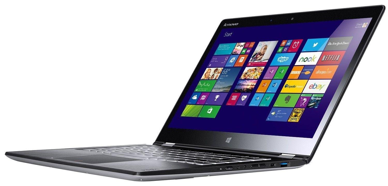 Ноутбук Lenovo Yoga 3 14 (80JH003EUA) Silver - 3