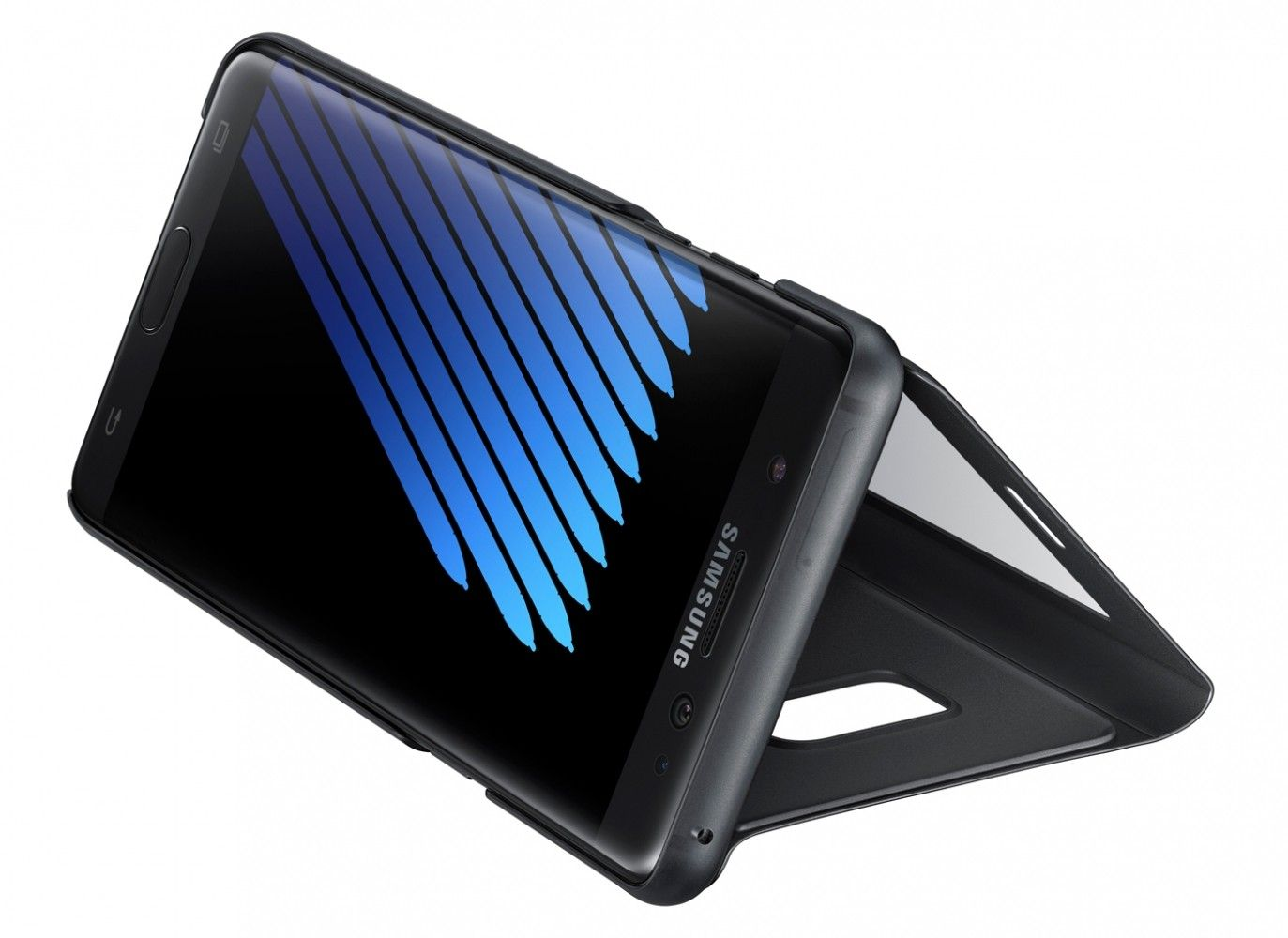 Чехол Samsung S View Cover для Samsung Galaxy Note 7 Black (EF-CN930PBEGRU) - 4