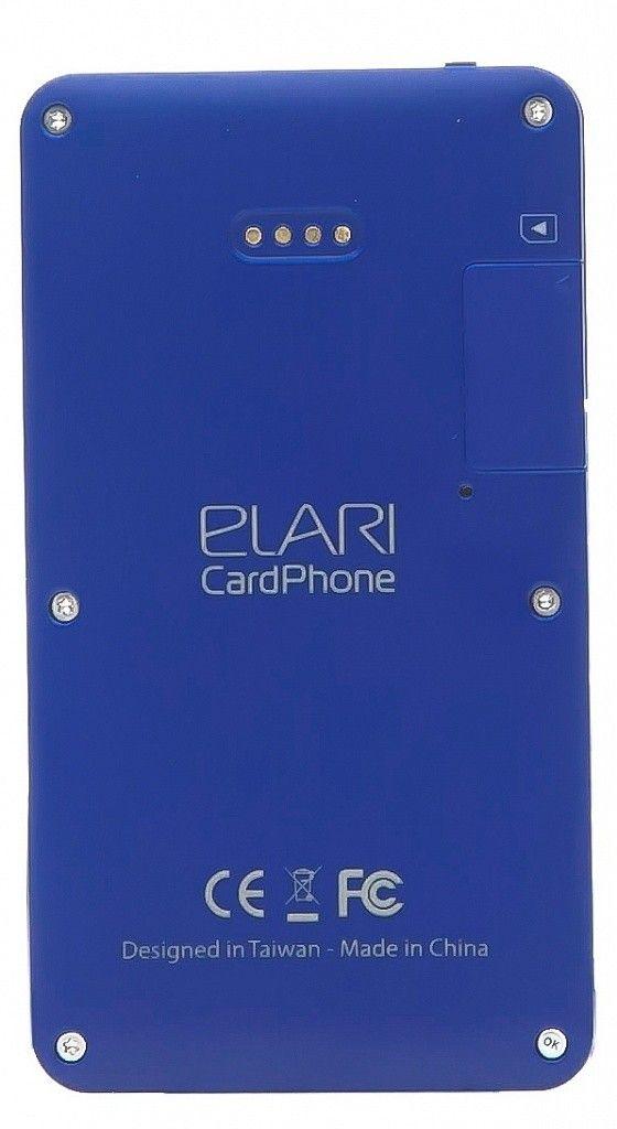 Мобильный телефон Elari CardPhone Blue (LR-CP-BL) - 2