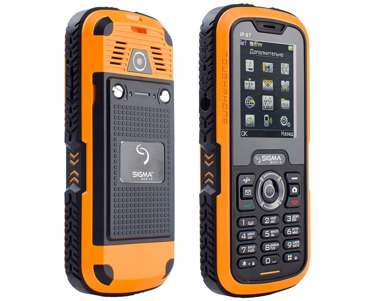 Мобильный телефон Sigma mobile X-treme IP67 Black Orange - 2