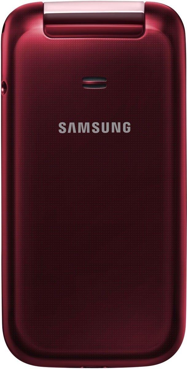 Мобильный телефон Samsung C3592 Wine Red - 2