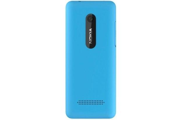 Мобильный телефон Nokia 206 Asha Dual Sim Cyan - 3
