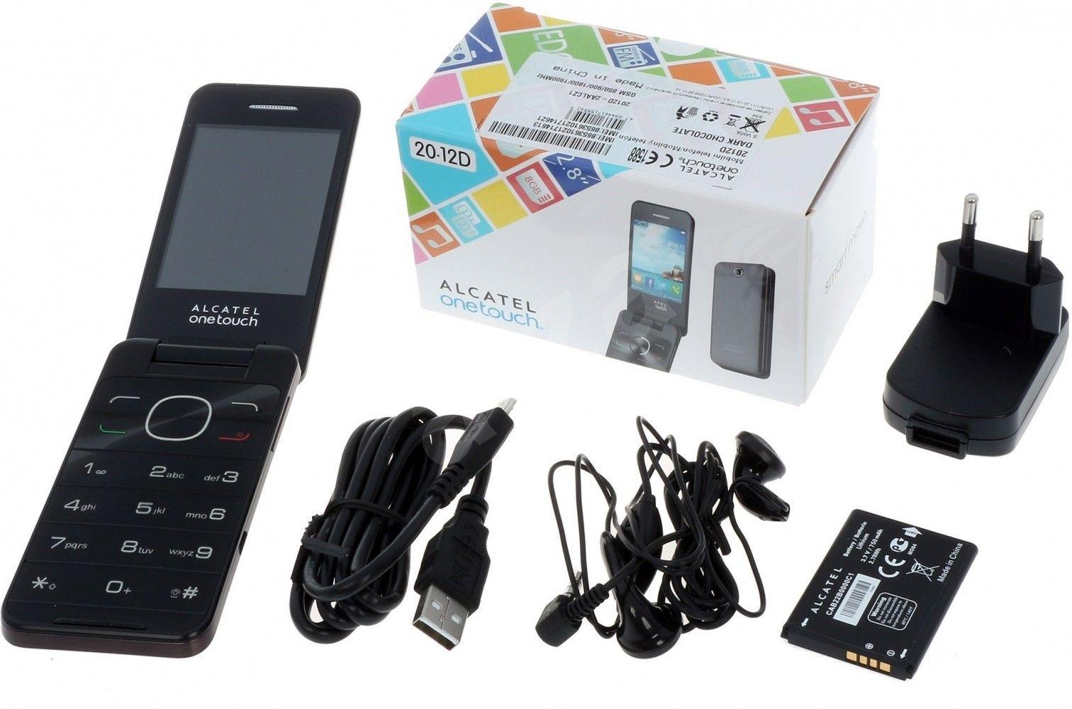 Мобильный телефон Alcatel One Touch 2012D Dark Chocolate - 4