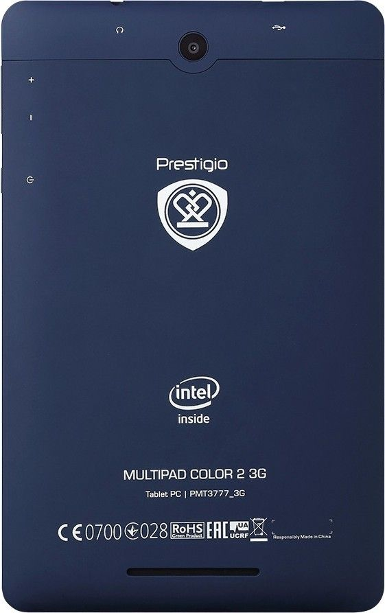 Планшет Prestigio MultiPad Color 2 8GB 3G Blue (PMT3777_3G_C_BL_CIS) - 3