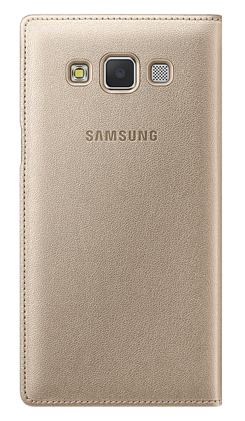 Чехол Samsung S View для Samsung Galaxy A5 500 Gold (EF-CA500BFEGRU) - 1