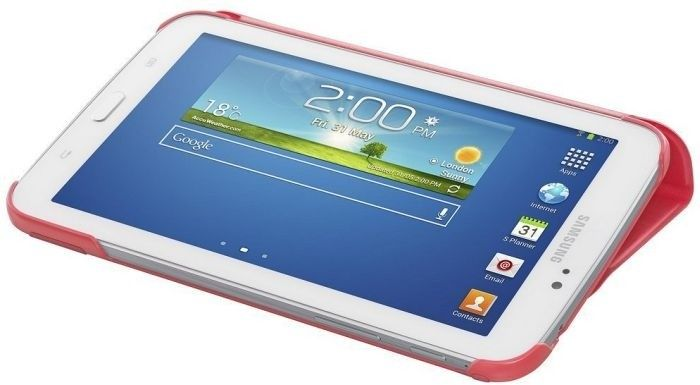 Обложка Samsung для Galaxy Tab 3.0 7.0 Berry Pink (EF-BT210BPEGWW) - 3