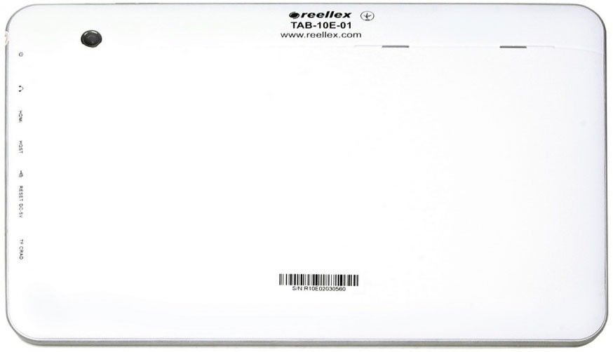 "Планшет Reellex TAB-10E-01 10,1"" 8GB White - 1"