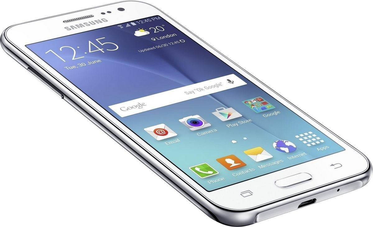 Мобильный телефон Samsung Galaxy J2 Duos J200H White - 2