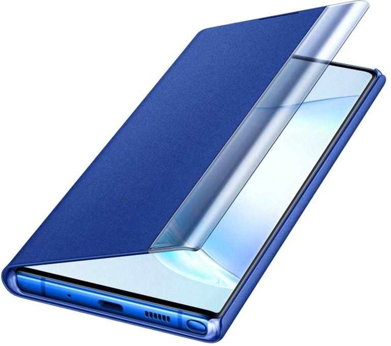 Чехол-книжка Samsung Clear View Cover для Samsung Galaxy Note 10 Plus (EF-ZN975CLEGRU ) Blue от Територія твоєї техніки - 4